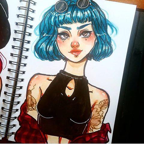 Watercolors Watercolor Sketch Sketchbook Anime Doodles