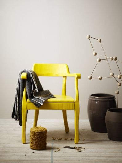 Never underestimate the power of yellow in a room.