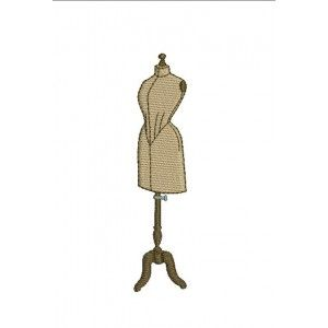 Motif de broderie mannequin n°3 http://alicebroderie.com/product.php?id_product=457