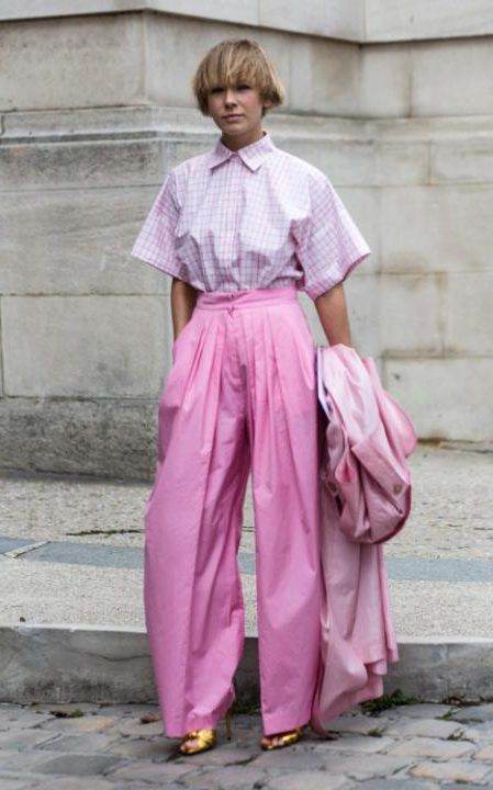 Pastels In Street Style.