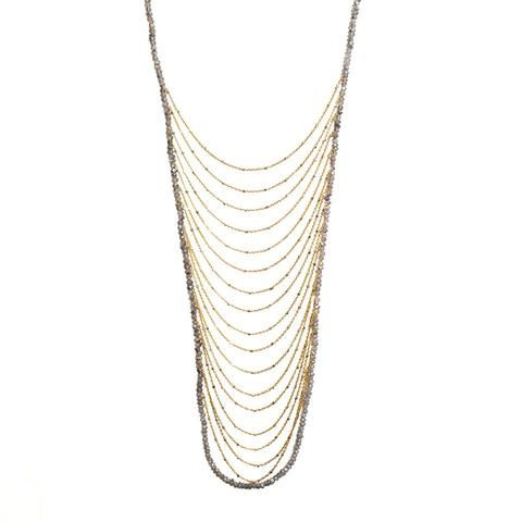 """""""Shoshanna Lee"""" Waterfall Necklace"""