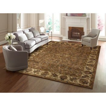 The Thomasville Marketplace Wool Rug   Brown
