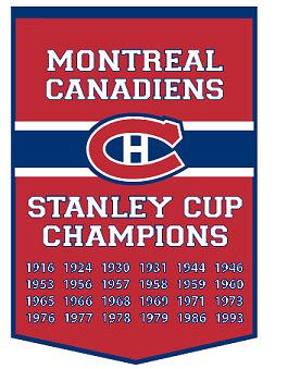 Montreal Canadiens Championship Banner