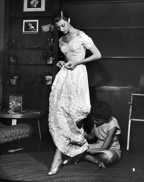 American Businesswoman Eileen Ford Of Ford Modeling Agency Work