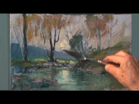 Painting Seascapes With Anton Benzon Video Trailer Youtube Abstract Art Landscape Painting Tutorial Painting