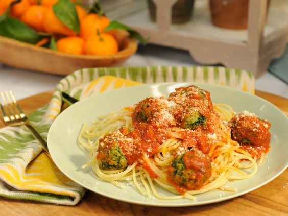 Veggie (Juice Pulp) Meatballs recipe from The Kitchen via Food Network: