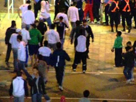 DISTURBIOS QUE NO SE VIERON EN EL PARTIDO TALLERES RACING
