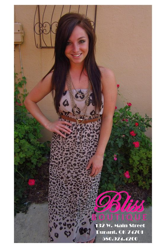 We love this leopard maxi! =)