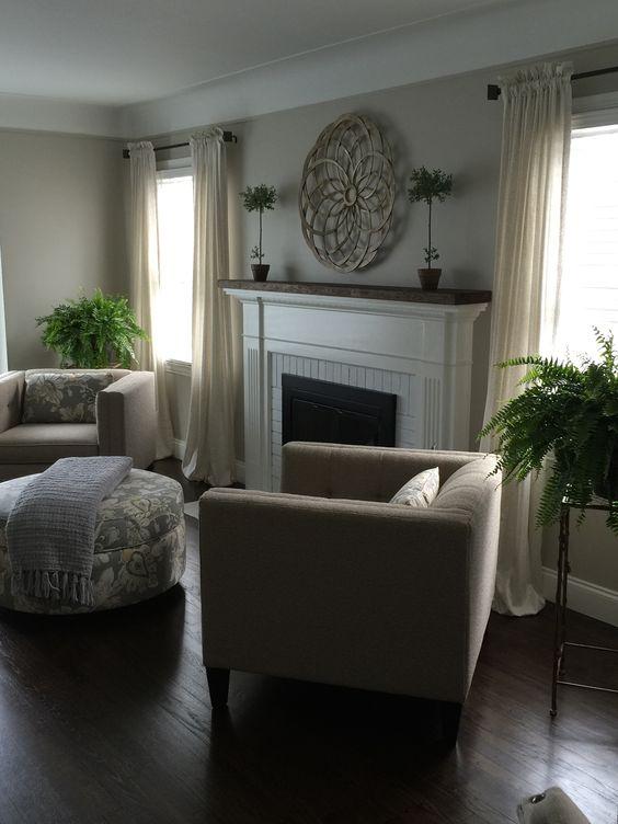 Simply White Living Room Ideas: Pinterest • The World's Catalog Of Ideas