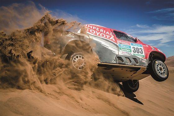 Dakar 2016 : Toyota pret a en decoudre avec le nouveau Hilux !