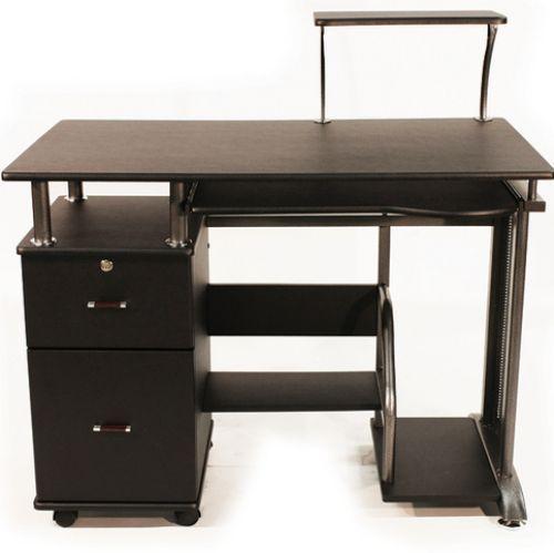Desk Computer Laptop Home Office Furniture Workstation Dorm Executive