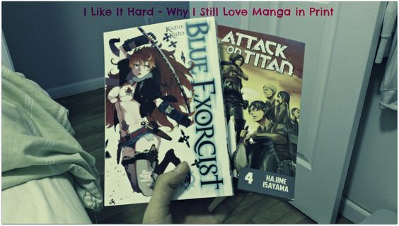 Blue exorcist volume 9 and attack on titan volume 4 in english check