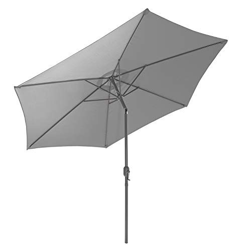 Gartenfreude 4900 1270 118 Parasol Gris En 2020 Meuble Jardin Parasols