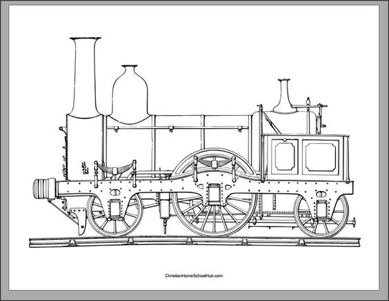 Stanley the tram engine coloring pages ~ Coloring, Coloring pages and Coloring books on Pinterest