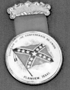 """""""RE-UNION! CONFEDERATES and COWBOYS"""" the flyer advertised """"A grand celebration of the Confederate veterans and cowboys will be held on the fair grounds at Plainview, Aug. 2d 3d 4th and 5th, 1898."""" (Texas)"""