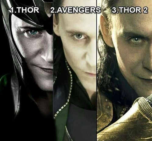 Evolution of Loki, god of mischief!!