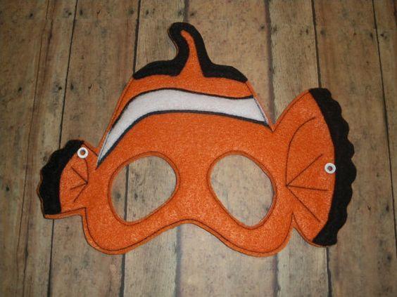 Nemo mask | Etsy