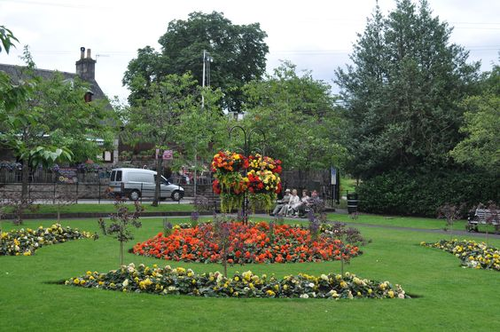 The green space in Pitlochry is truly wonderful.