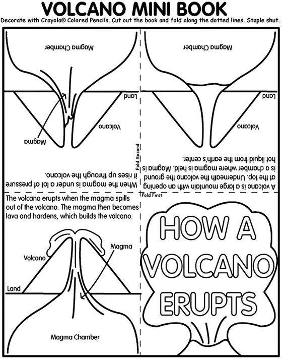photo about Volcano Printable identify No cost Printable Volcano Mini-Ebook Research Mini guides