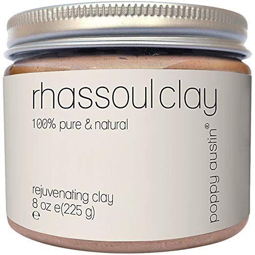 Amazon Com Rhassoul Clay Hair Facial Mask Ghassoul Vegan