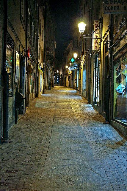 Rua Direita, Viseu, Portugal