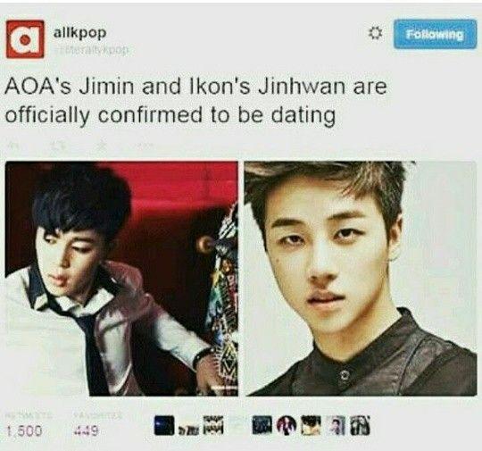 jimin aoa and ji hwan confirmed dating