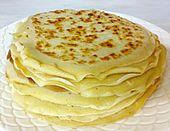 Coconutflour Crepes: 2 Eiweiß, 1/2 Eigelb, 1 EL Kokosmehl, 30 ml Milch, 30 g Butter