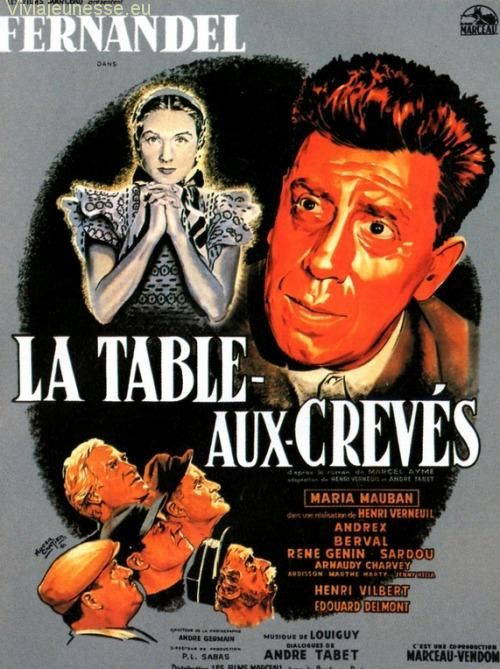 La Table Aux Creves 1951 En 2020 Vieux Films Les Blues Brothers Telecharger Films