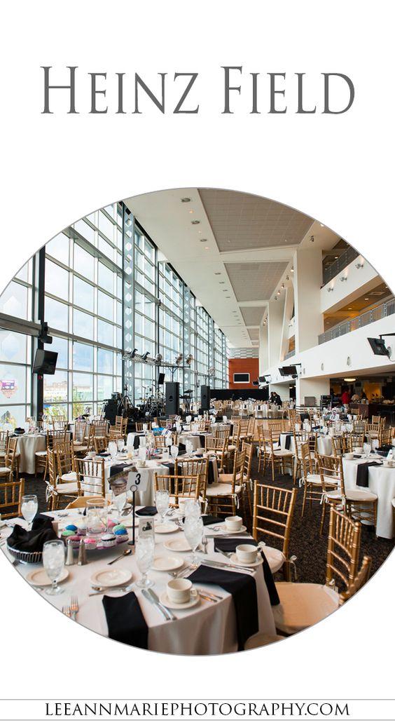 Heinz Field Wedding Reception Photography by Leeann Marie, Wedding Photographers: http://www.leeannmariephotography.com