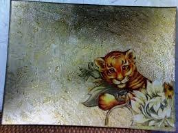 Resultado de imagen para como pintar cuadros de madera en relieve
