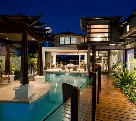 Queensland homes chris clout design in my place for Pool fence design qld