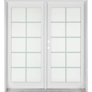 Ashworthprofessional series 72 in x 80 in white aluminum for Solid wood patio doors