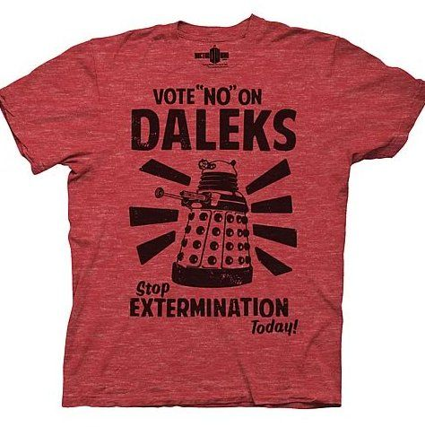 Vote No On Daleks !