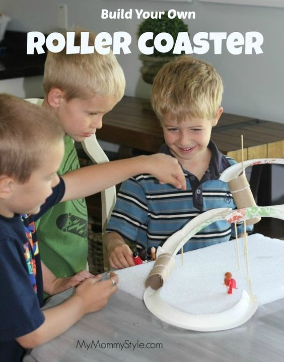 DIY Backyard Roller Coaster (LEARN HOW TO BUILD A PVC ...