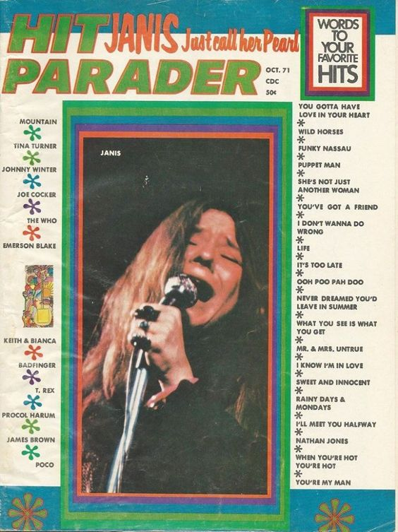 Hit Parader - Outubro de 1971.