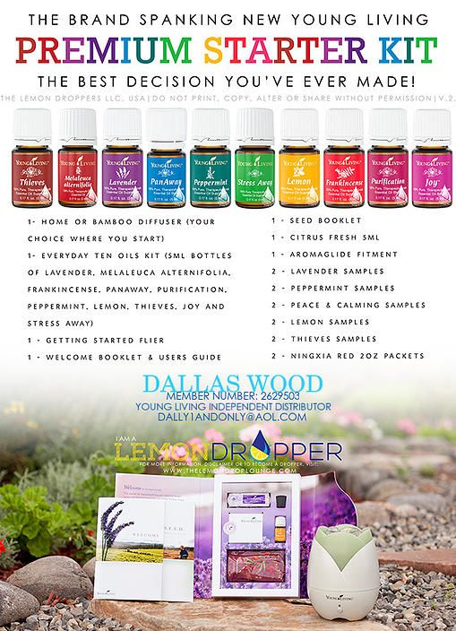 Getting started with Young Living Essential Oils