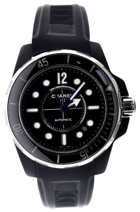 Chanel J12 Marine H2558 Black Ceramic Watch