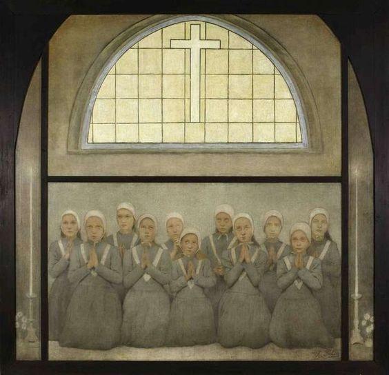 Fernand Pelez, La chapelle : Les orphelines