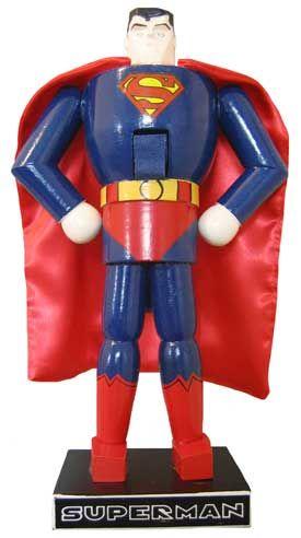 Superman Collectible Nutcrackers.