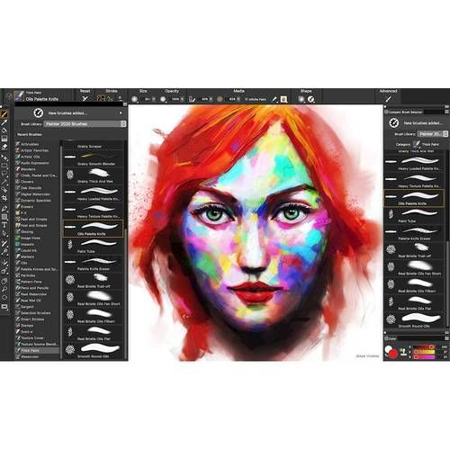 Corel Painter 2020 Upgrade 1 User Windows Digital Esdptr2020mlug Best Buy Digital Art Software Corel Painter Digital Painting Tutorials