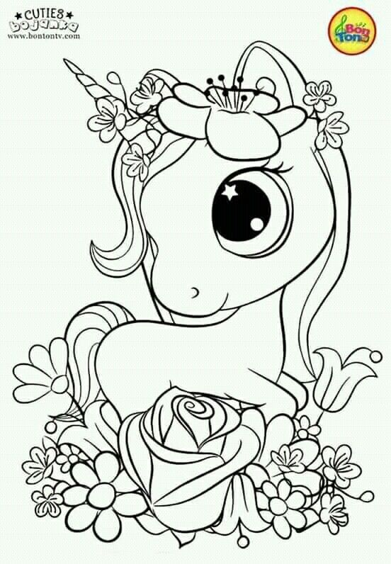 Less Stress By Kassi Lucky Unicorn Coloring Pages Mermaid