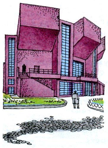 Architect Konstantin Melnikov || Клуб имени Русакова в Москве. Архитектор Константин Мельников