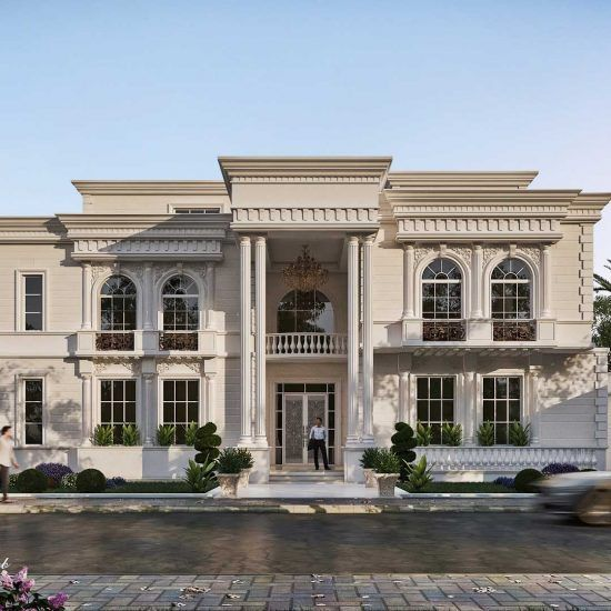 New Classic Palace Classic House Exterior House Outside Design Classic House Design