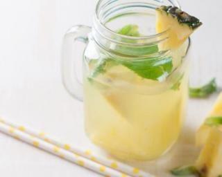 Eau fraîcheur à l'ananas pour brûler les graisses | Recipe