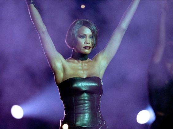 London style: Whitney Houston in England, 1999. Associated Press photo