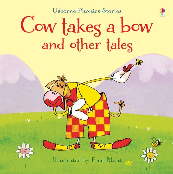 Cow takes a bow and other tales with CD £7.99 (save  £3). Comment to order or email jane@quackquackbooks.co.uk