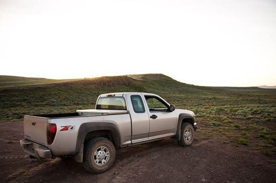 Had a great time breaking in the new Chevy Colorado on its first desert camping trip of the summer.