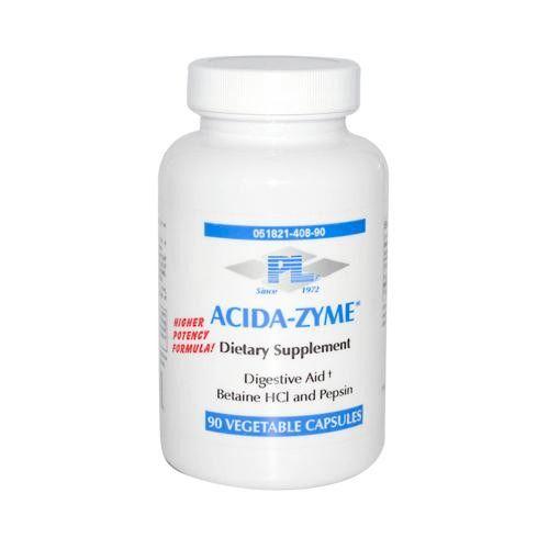 Progressive Laboratories Acida-zyme Dietary Supplement - 90 Capsules