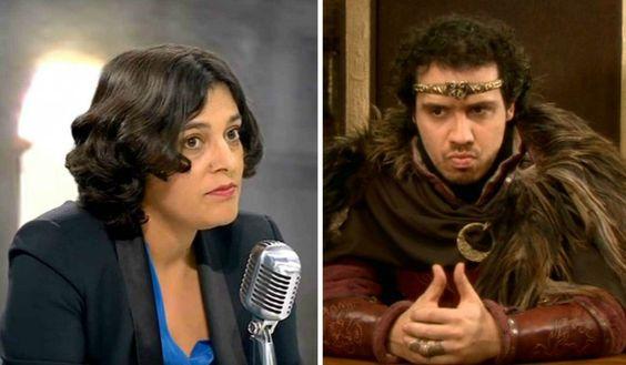 [VIDEO] Quand le Roi Arthur interviewe la Ministre du Travail