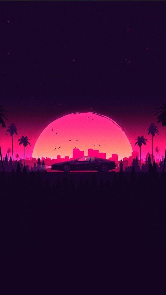 Sunset Sunset Wallpaper Car